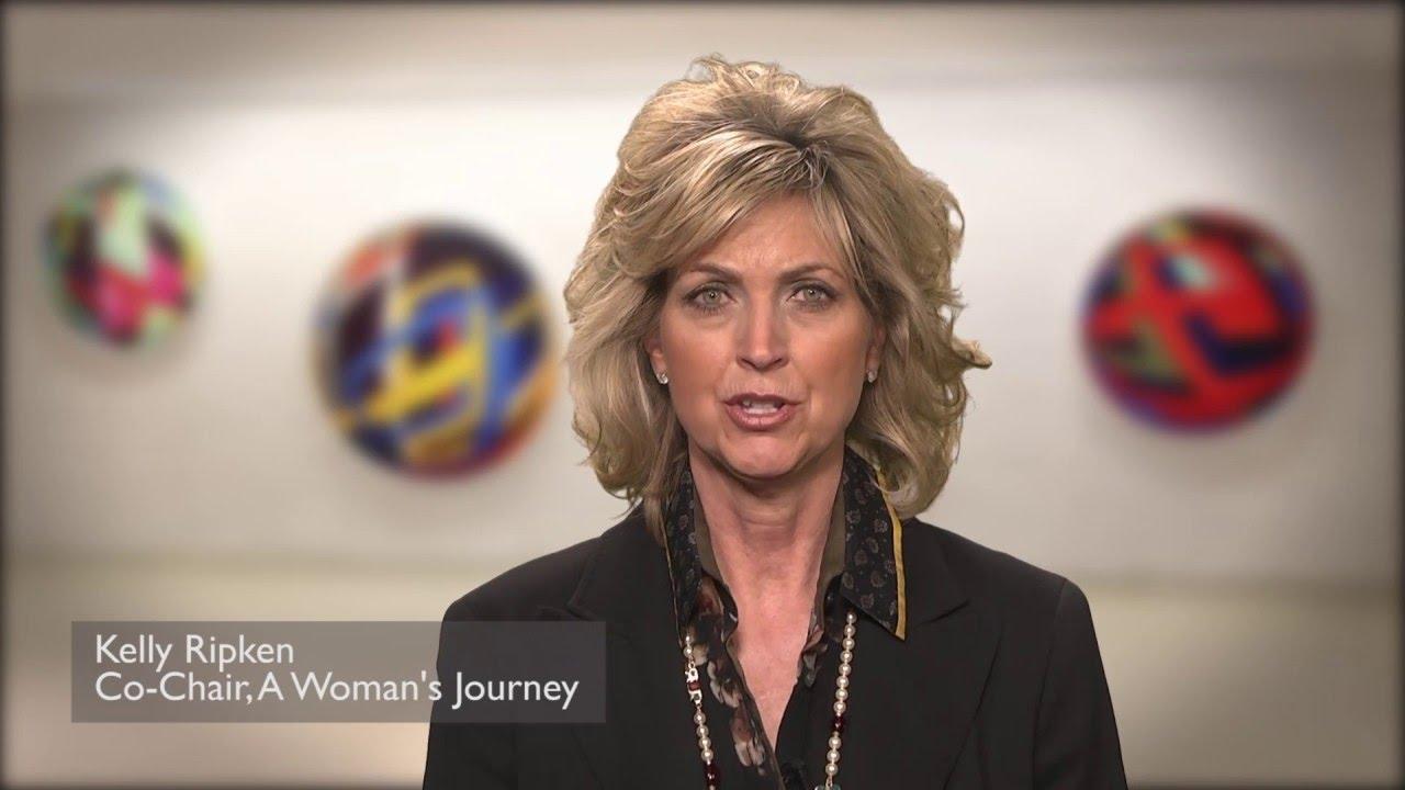 Kelly Ripken Co-Chair for A Woman's Journey - YouTube
