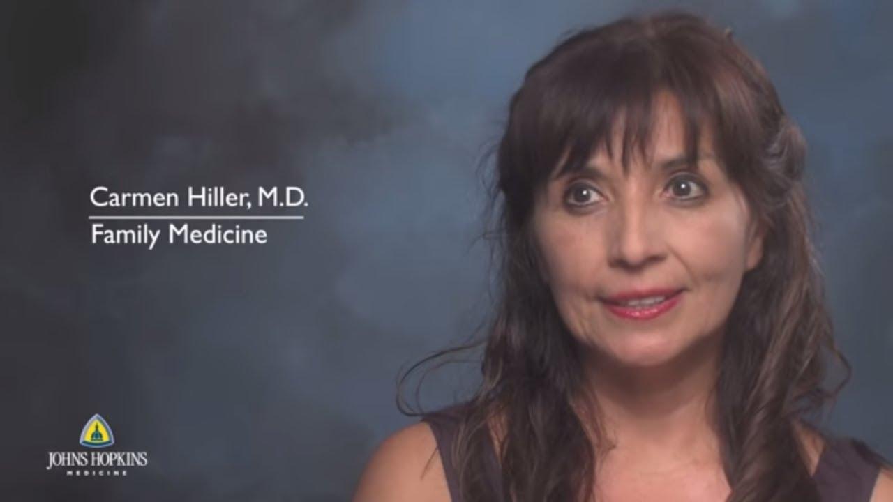 Caring for the Community   Meet Dr. Carmen Hiller - YouTube